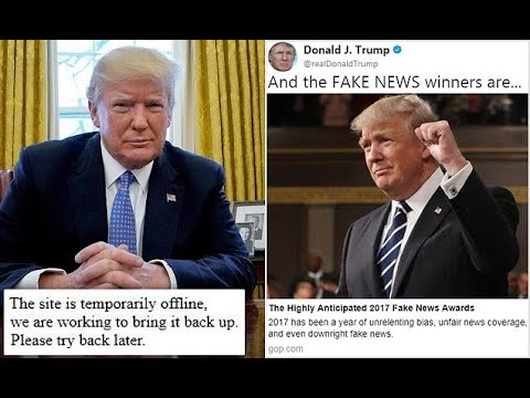 Trump names the 'winners' of his 'Fake News Awards'