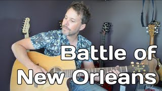How To Play Battle of New Orleans - Johnny Horton
