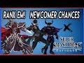 Super Smash Bros Ultimate Rank Em Newcomer Chances  Black Knight, Joker and Black shadow No#6