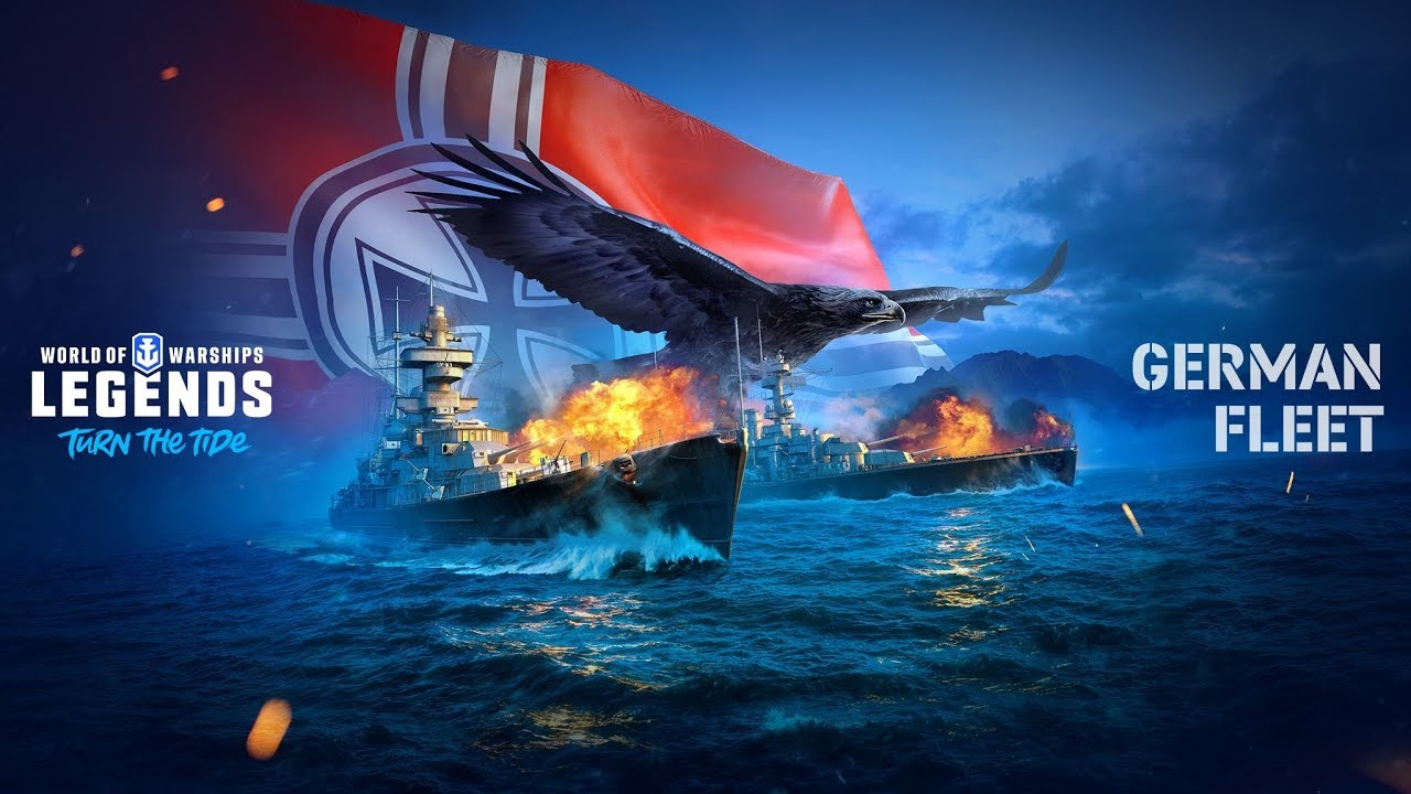 World of Warships Legends (PS4) Update Juli 2019 - YouTube