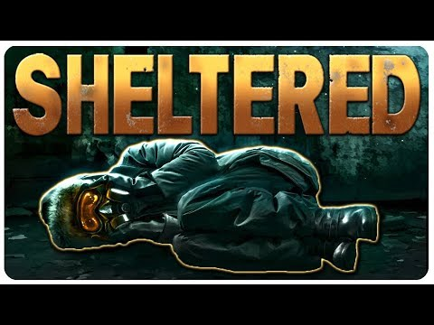 Bunker Bullies Take On The Wasteland! | Sheltered Gameplay 1