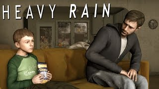 HOW TO BE THE MOST AWKWARD DAD | Heavy Rain [2]