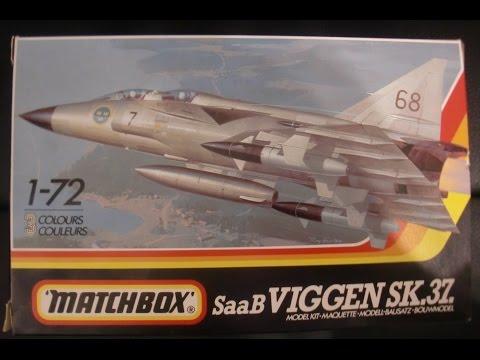 Matchbox 1:72 SaaB Viggen SK.37. (Part 1)