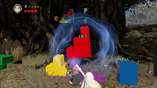 """Lego Lord of the Rings. Free Play, Episode 9: """"Track Hobbits""""."""