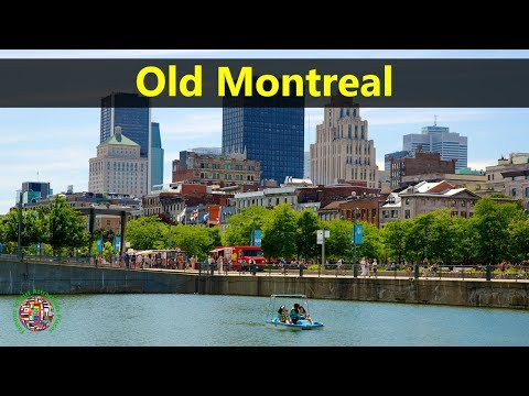 Best Tourist Attractions Places To Travel In Canada | Old Montreal Destination Spot