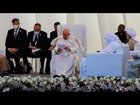 فيديو: البابا فرنسيس يزور المرجع الشيعي علي السيستاني في النجف ويحج إلى أور في العراق…  - نشر قبل 47 دقيقة