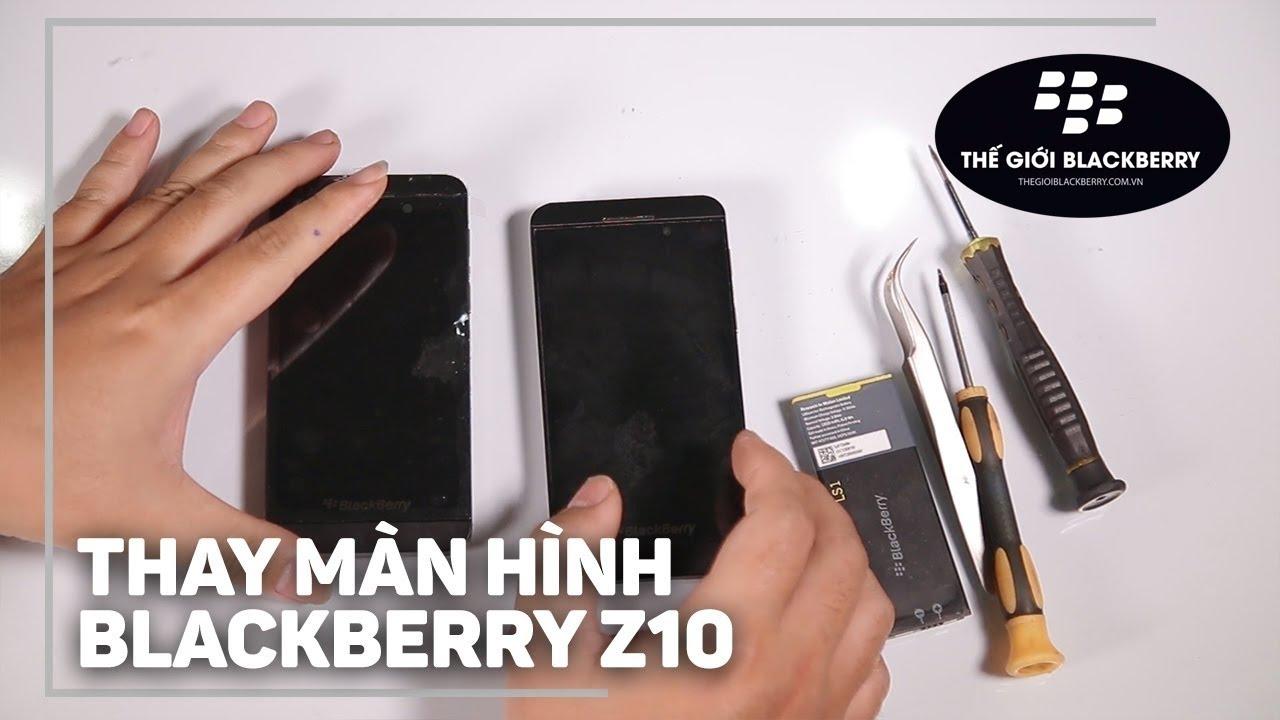 Image result for thay màn hình blackberry z10