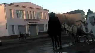 Карачаевская свадьба. Кортеж.