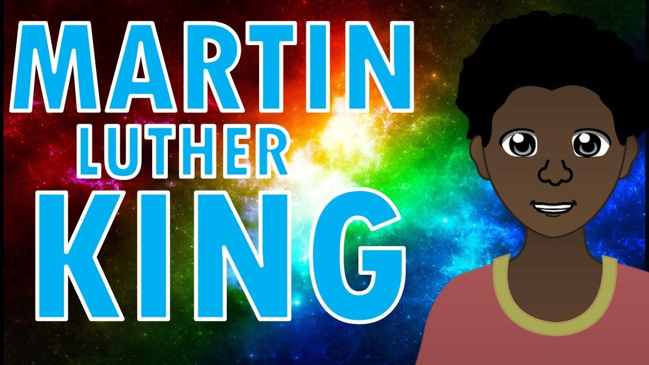Martin Luther King Biografía para niños - YouTube