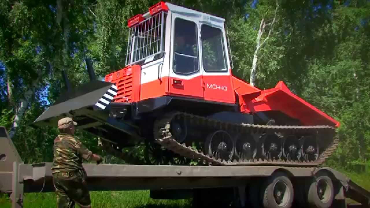 Трактор ТТ-4 на лесозаготовке - YouTube
