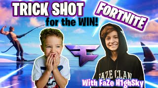 *World's Youngest Fortnite PRO Players* with FaZe H1ghSky1 - 5 Year Olds & 13 Year Olds