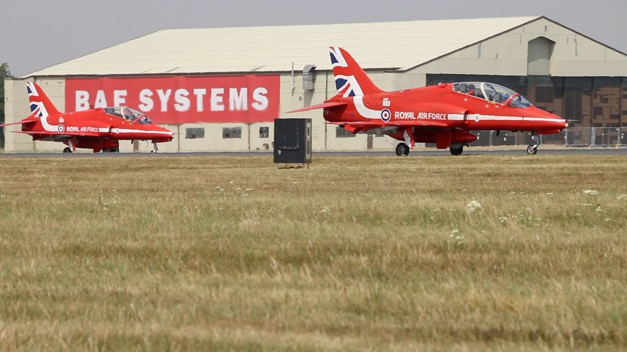 on sale 1b61d aae50 RIAT Air Show RAF Red Arrows Display England 2018 - YouTube