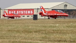 RIAT Air Show RAF Red Arrows Display England 2018
