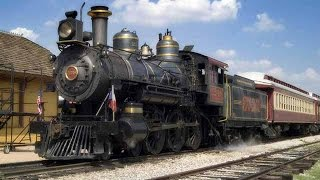 A Dream Come True: 1896 Cooke 4-6-0 STEAM LOCOMOTIVE TOUR!
