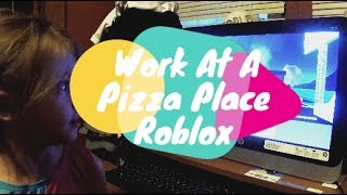 Trabajar en un lugar de pizza ? ROBLOX HBB TV