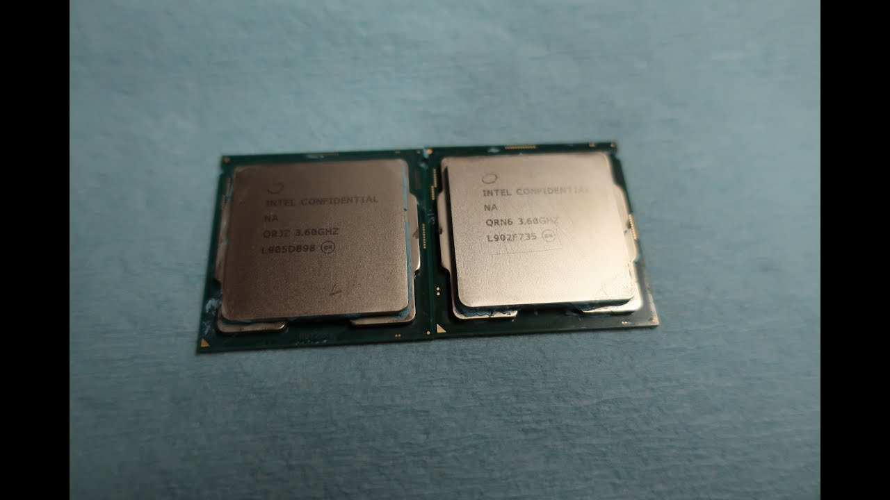 Intel Core i9 9900KF & R0 stepping 9900K - thoughts and opinions