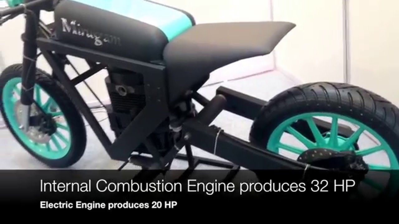 A bike that runs on any fuel (Mirugam) : unique Indian invention ...