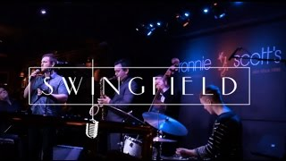Richard Hadfield live at Ronnie Scott's singing Bewitched, Bothered & Bewildered