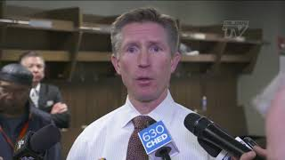 THE OTHER SIDE | Coach Hakstol Post-Game