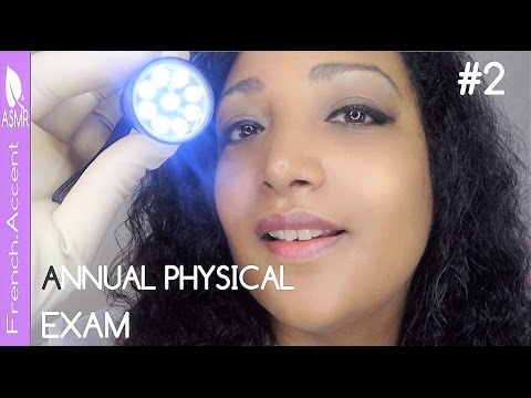 The Annual Doctor Physical Exam ASMR Role play Medical check up