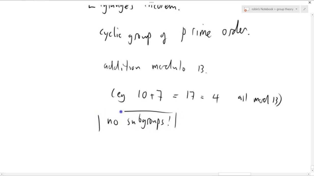 Lagrange S Theorem Group Theory 115