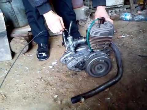 Odpalanie silnika WSK 125! Film na potrzeby ALLEGRO.pl