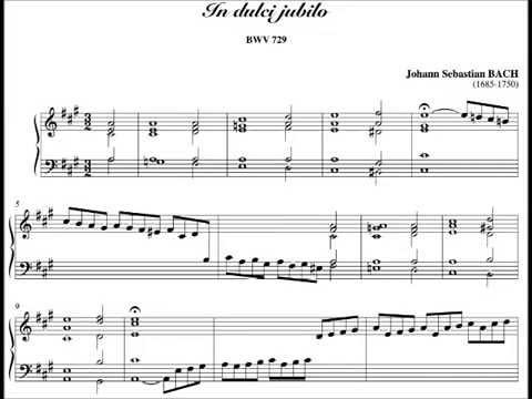 J.S.Bach - In Dulci Jubilo BWV 729