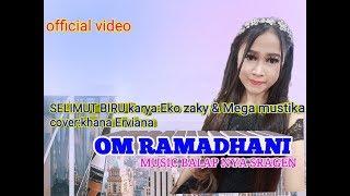 SELIMUT BIRU karya eko saky & mega mustika cover khana erviana om ramadhani