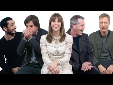 Rogue One Cast Funny Moments 2016