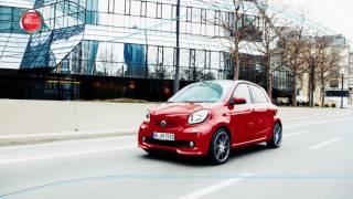 Nuova Smart BRABUS 2016 e Ferrrari GTC4 Lusso a Seul | TG Ruote in Pista