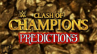 WWE Clash of Champions 2020 Predictions | Wrestling With Wregret