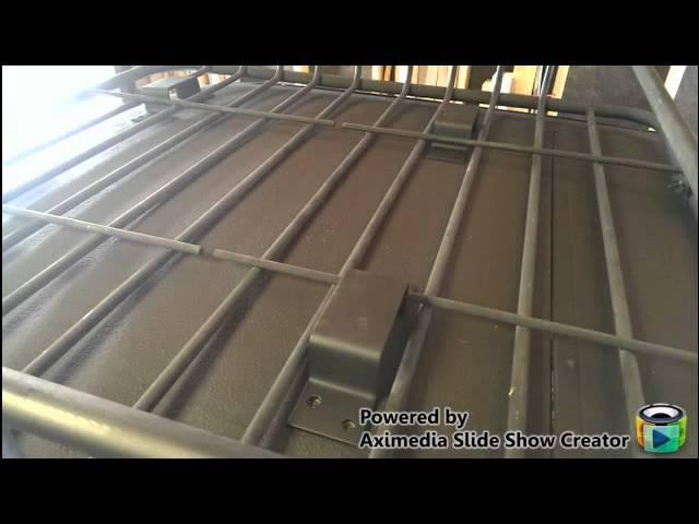 Cheap Diy Roof Rack Basket Mounting System Base Youtube
