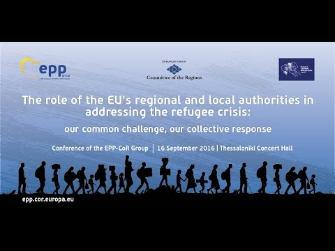 The role of the EU's regional and local authorities in addressing the refugee crisis