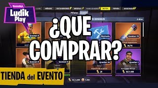 RECOMMENDATION ON WHAT TO BUY IN THE EVENT STORE FORTNITE SAVE THE WORLD SPANISH GUIDE