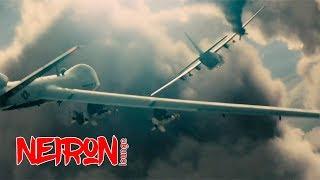 """Угон военного самолета. Момент из фильма  """"Команда А"""" — 2010"""