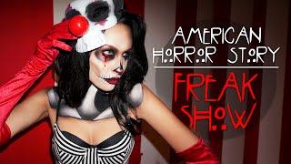 American Horror Story FreakShow Makeup Tutorial Thumbnail