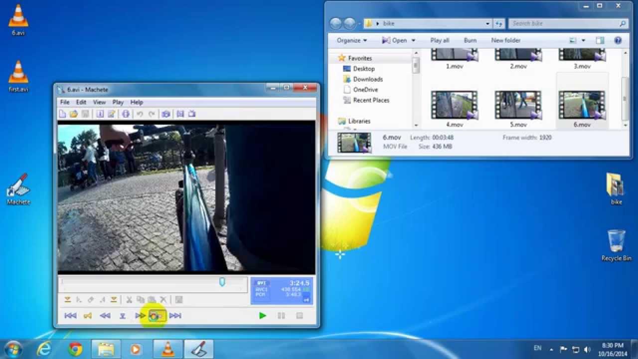machete video editor serial