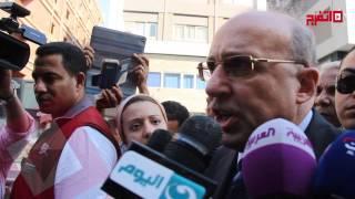 اتفرج | وزير الصحة يكشف عن سبب وفاة الشهيد هشام بركات