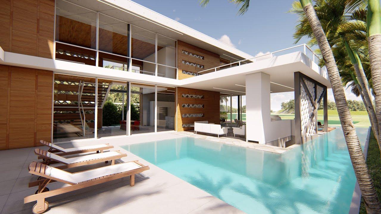Terraza Casa Playa Nueva Romana