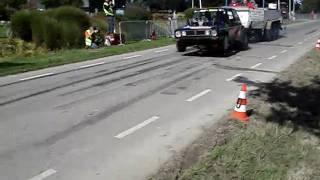 Carpulling Achthuizen 2010 Bad News 2de manche autotrek