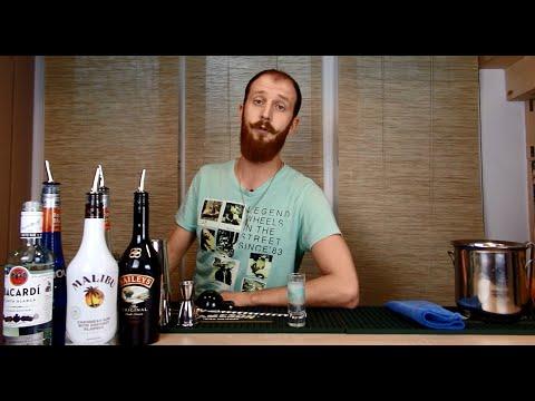"Коктейль ""Медуза"" - рецепт, состав и пропорции напитка"