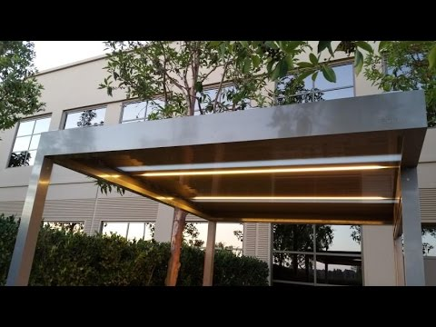 Timelapse algarve structure and zipshade assembly by skyco youtube