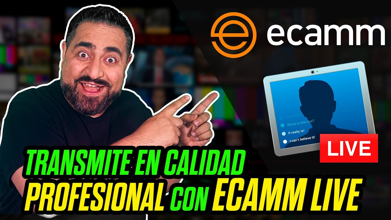 Ecamm Live, transmite en calidad profesional - YouTube