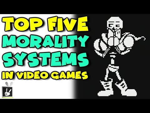 Top Five Morality Systems in Video Games