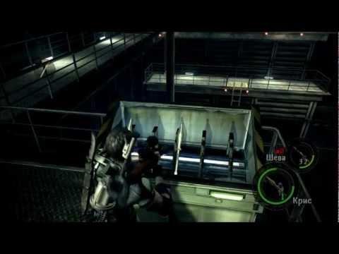 Смотреть прохождение игры [Coop] Resident Evil 5 - Серия 19: Вескер, Вескер, Вескер...