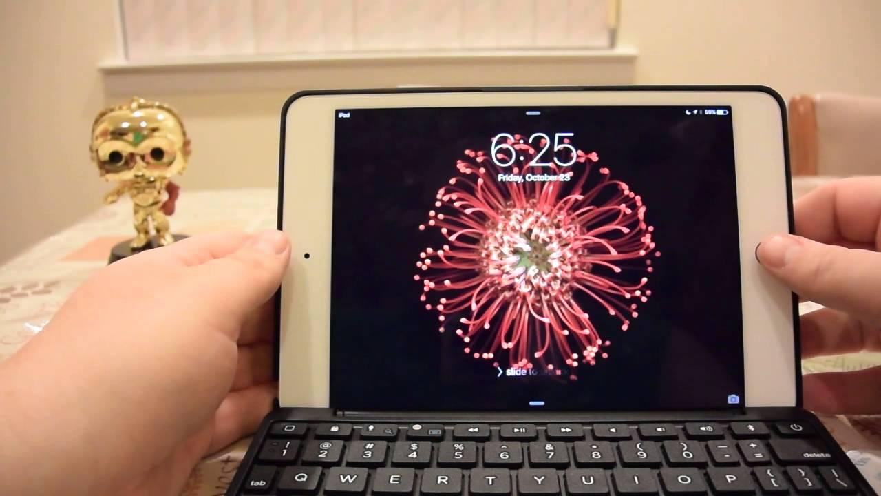 638bd9d5688 Zagg folio for iPad mini 4 Unboxing - YouTube
