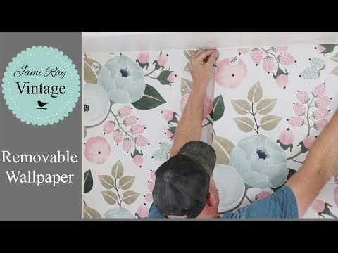 Teen Bedroom Makeover Part 1 Removable Wallpaper | Rocky Mountain Decal