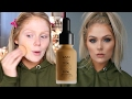 NEW NYX TOTAL CONTROL DROP FOUNDATION FIRST IMPRESSIONS REVIEW & DEMO