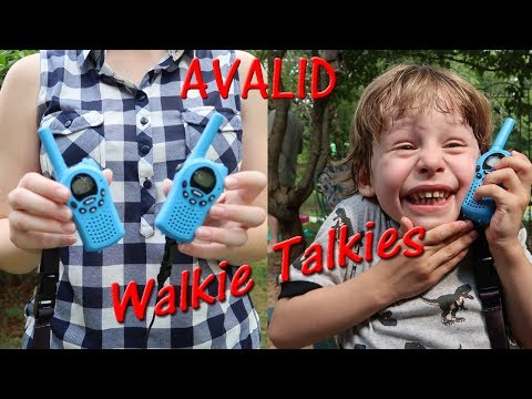 👀Avalid WALKIE TALKIE SET FOR KIDS 🍀22 CHANNEL Two Way Radios Review 👈