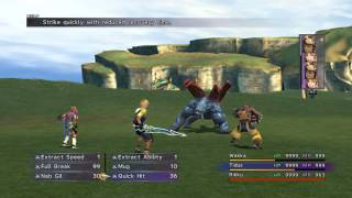 Final Fantasy X HD PS4: Juggernaut- Strength Sphere farming